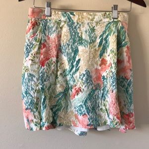 Old Navy casual floral skirt size Medium